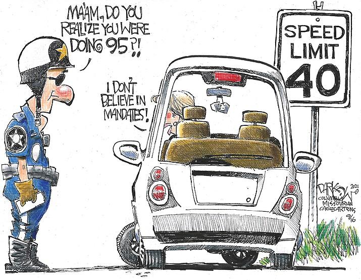 Editorial cartoon (2): Sept. 19, 2021