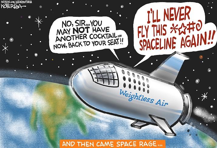 Editorial cartoon (1): Sept. 21, 2021