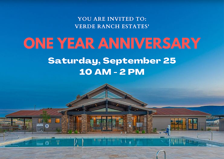 """Verde Ranch Estates is scheduled to host a """"1-Year Anniversary"""" ribbon cutting after COVID-19 delayed the first ceremony. The ribbon cutting is scheduled for Saturday, Sept. 25, 2021. (VRE/Courtesy)"""