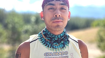 Kayenta's Autry Lomahongva prepares for another cross country season at Colorado Mountain College photo