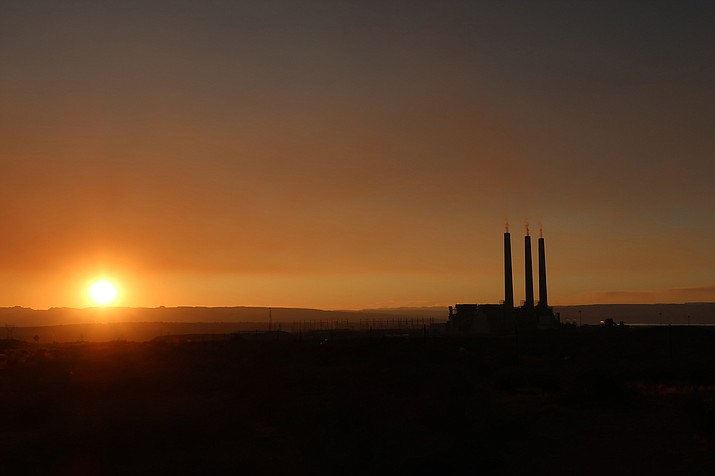 With the closure of the Navajo Generating Station in 2019, the Navajo and Hopi tribes have sought options for restoring lost revenue and jobs on the reservations. (AP Photo/Felicia Fonseca)