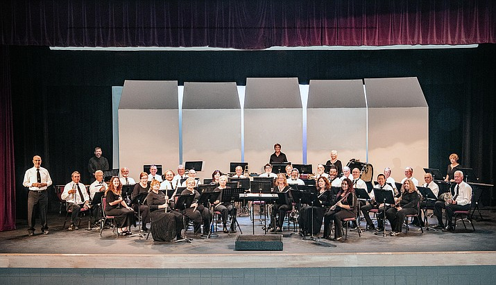 The Cottonwood Community Band is scheduled to play at the Phillip England Center for the Performing Arts in Camp Verde on Sunday, Sept. 26, 2021. The show is scheduled for 3 p.m. (Cottonwood Community Band/Courtesy)