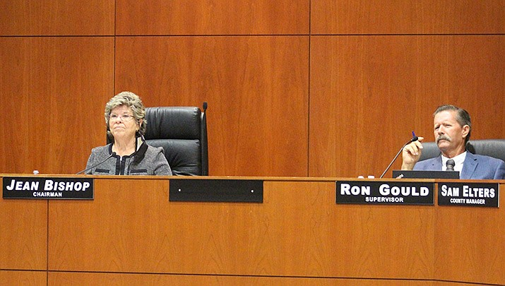 The Mohave County Conservatives Political Action Committee hopes to gather enough signatures for a ballot initiative to enact term limits on members of the Mohave County Board of Supervisors. (Miner file photo)