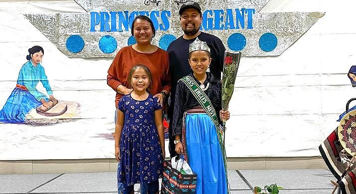 Nia Balcerek, was named the 2021-2022 Miss Tuba City Elementary School Princess Sept. 14. (Photos/Tuba City Unified School District)