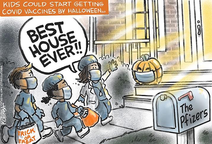 Editorial cartoon (1): Sept. 22, 2021