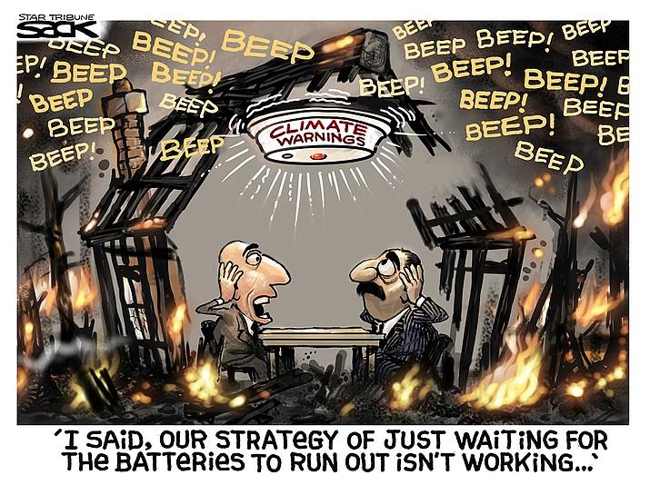 Editorial cartoon (1): Sept. 23, 2021