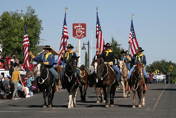 This undated file photo shows the Fort Verde Days parade in Camp Verde. The Camp Verde Parks and Recreation Department announced Wednesday, Sept. 22, 2021, that there's still space for parade entries and vendors for the 65th annual Fort Verde Days on Oct. 9 and 10. (Independent file photo)