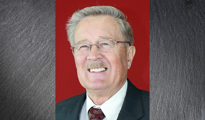 Former Prescott Valley Mayor Harvey Skoog died Wednesday, Sept. 22, 2021. He first became mayor in March 1993 and retired in January 2018 after 26 years of service. (Town of Prescott Valley/Courtesy)