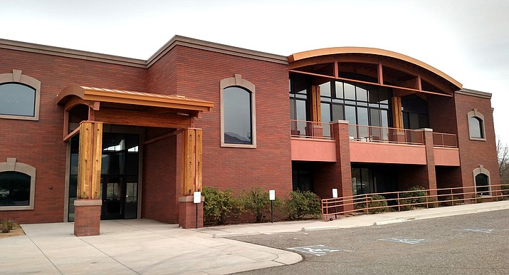 """The former Riverfront Commons building, known as """"Rough Cuts,"""" 635 N. Main St., Cottonwood, is being sold to the city for $2.95 million after the council voted 6-1 in favor of the purchase Tuesday, Sept. 21, 2021. (Independent file photo)"""