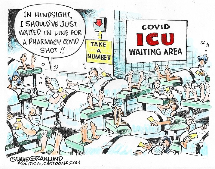 Editorial cartoon (1): Sept. 25, 2021