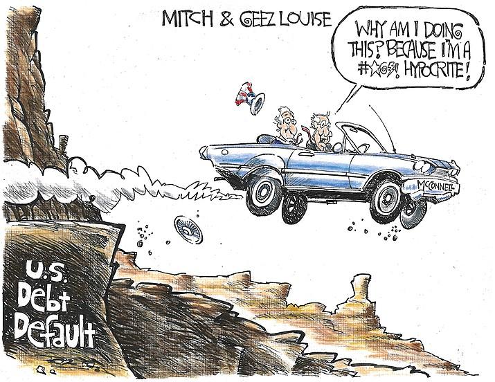 Editorial cartoon (2): Sept. 27, 2021