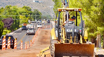 Construction resumes on Mingus Avenue project photo