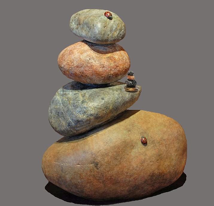 Ain't No Mountain High Enough bronze sculpture by Erik Petersen. (Rowe/Courtesy)