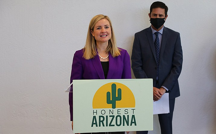 """Phoenix Mayor Kate Gallego says the Child Tax Credit """"can be life-changing for those who are struggling to get by."""" (Sierra Alvarez/Cronkite News)"""