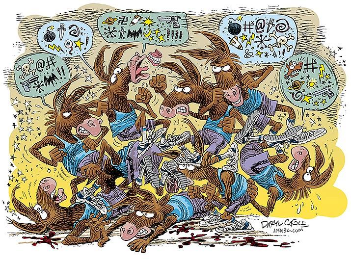 Editorial cartoon (1): Oct. 5, 2021