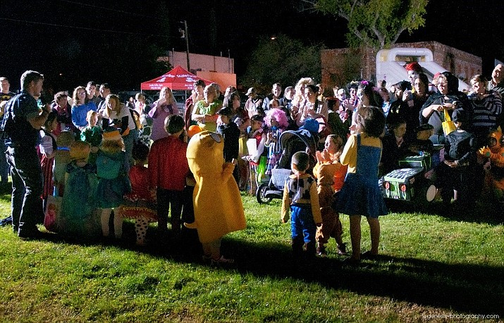 This undated file photo shows Halloween in the City of Cottonwood. On Sunday, Oct. 31, 2021, Cottonwood's annual Trunk-or-Treat returns to haunt Brian Mickelsen Parkway from 4 pm to 7 pm. The event is free to the public, and all ghouls and ghosts are invited to take part in the event. (City of Cottonwood/Courtesy)