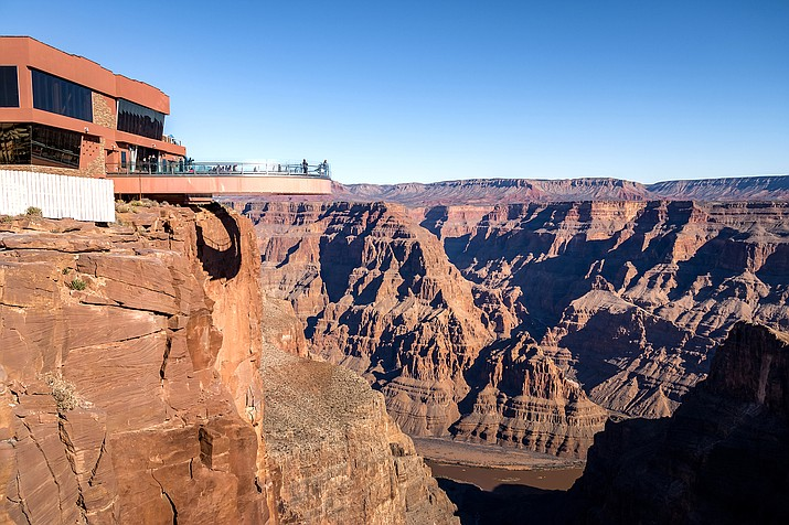 A Mohave County Sheriff's Officer responded to a report of a 21-year-old man over the edge at Grand Canyon West Sept. 28. (Photo/Adobe Stock)