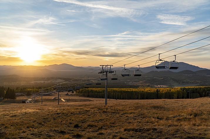 The Arizona Gondola at Snowbowl offers views of northern Arizona and many fall colors. (Photo/Arizona Snowbowl)