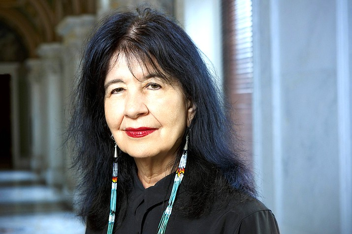 Joy Harjo, poet laureate of the United States, has just begun her third term. (Photo/Shawn Miller/Library of Congress)