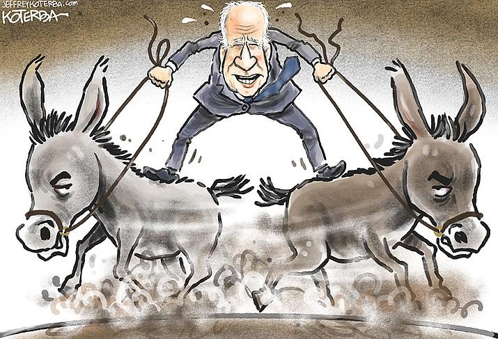 Editorial cartoon (2): Oct. 6, 2021