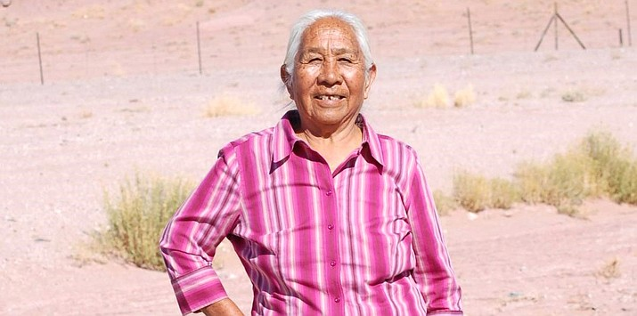 Agnes Laughter was remembered by the Navajo Nation Council and Speaker Seth Damon for her efforts to strengthen Native American voting rights. (Photo/Canyon de Chelly National Monument, NPS)