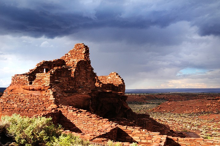 Wupatki Pueblo is in need of restoration because of many factors. (Photo/National Park Service)
