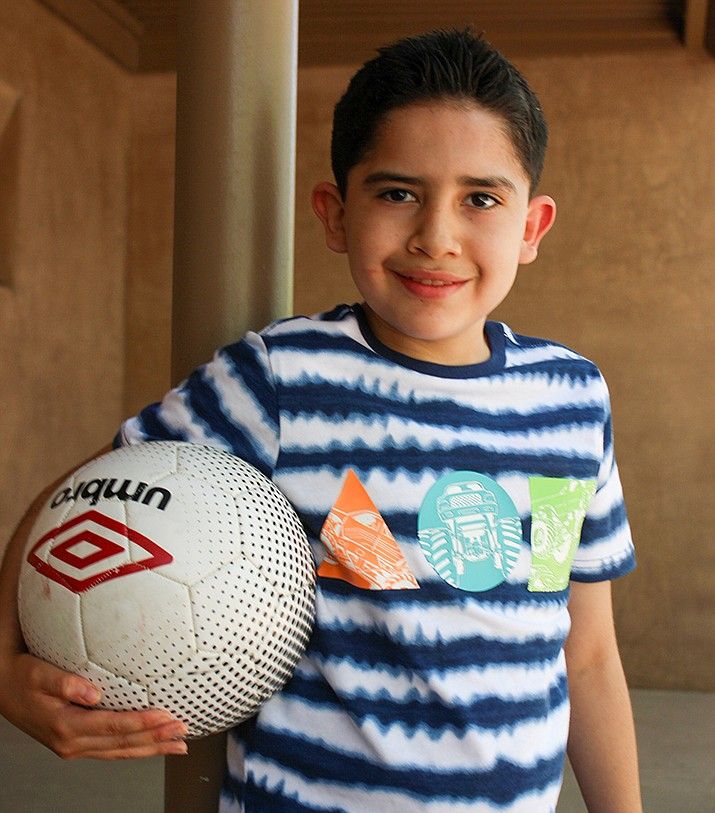 Get to know Cristos at https://www.childrensheartgallery.org/profile/cristos and other adoptable children at childrensheartgallery.org. (Arizona Department of Child Safety)