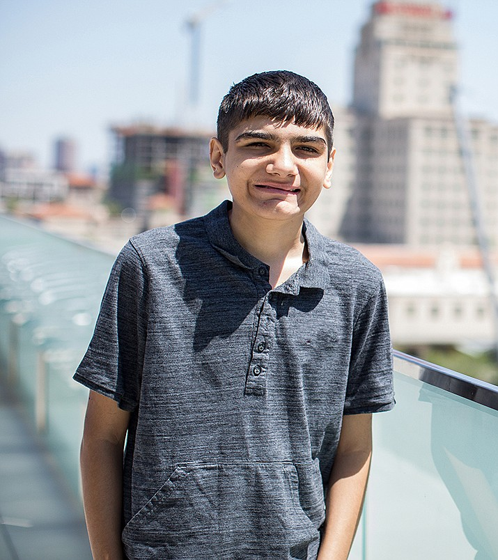 Get to know Danny at https://www.childrensheartgallery.org/profile/danny and other adoptable children at childrensheartgallery.org. (Arizona Department of Child Safety)