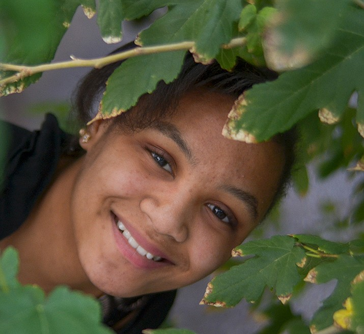 Get to know Errielee at https://www.childrensheartgallery.org/profile/errielee and other adoptable children at childrensheartgallery.org. (Arizona Department of Child Safety)