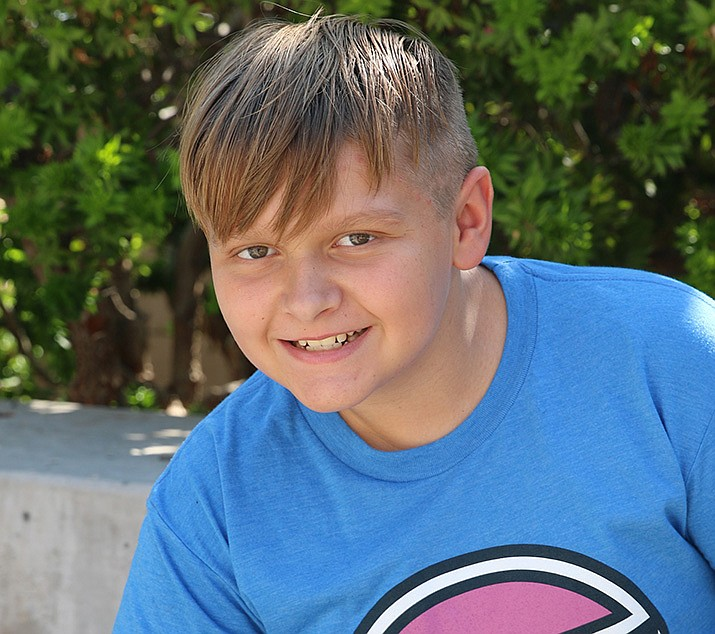 Get to know Matthew at https://www.childrensheartgallery.org/profile/matthew-j and other adoptable children at childrensheartgallery.org. (Arizona Department of Child Safety)