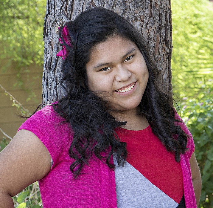 Get to know Nelly at https://www.childrensheartgallery.org/profile/nelly and other adoptable children at childrensheartgallery.org. (Arizona Department of Child Safety)