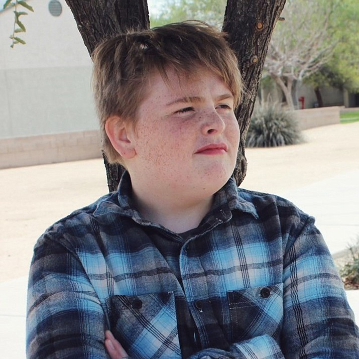 Get to know Seth at https://www.childrensheartgallery.org/profile/seth-1 and other adoptable children at childrensheartgallery.org. (Arizona Department of Child Safety)