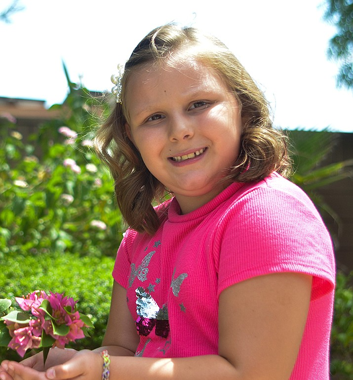 Get to know Skylar at https://www.childrensheartgallery.org/profile/skylar-m and other adoptable children at childrensheartgallery.org. (Arizona Department of Child Safety)