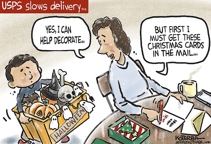 Editorial cartoon (1): Oct. 7, 2021