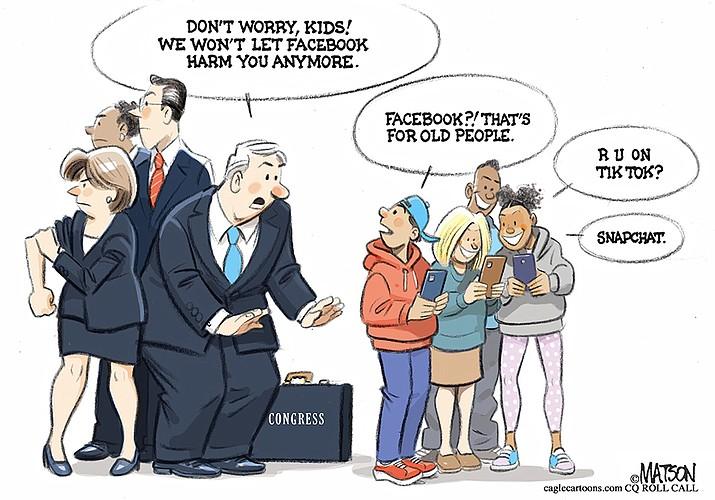 Editorial cartoon (2): Oct. 8, 2021