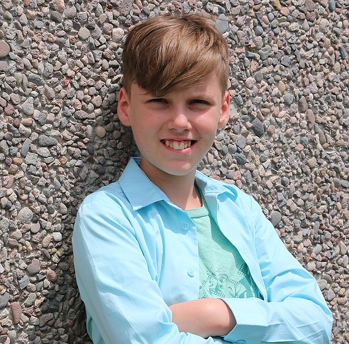 Get to know William at https://www.childrensheartgallery.org/profile/william-0 and other adoptable children at childrensheartgallery.org. (Arizona Department of Child Safety)