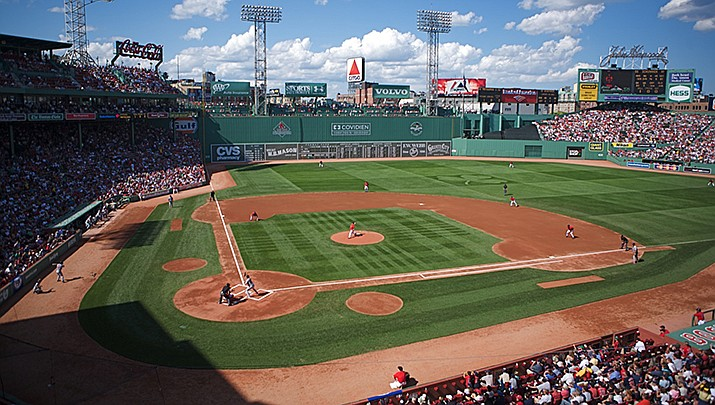 The Boston Red Sox defeated the New York Yankees in the American League wildcard game on Tuesday, Sept. 5 at Fenway Park in Boston. (Photo by Jared Vincent, cc-by-sa-2.0, https://bit.ly/2Vx6g6j)