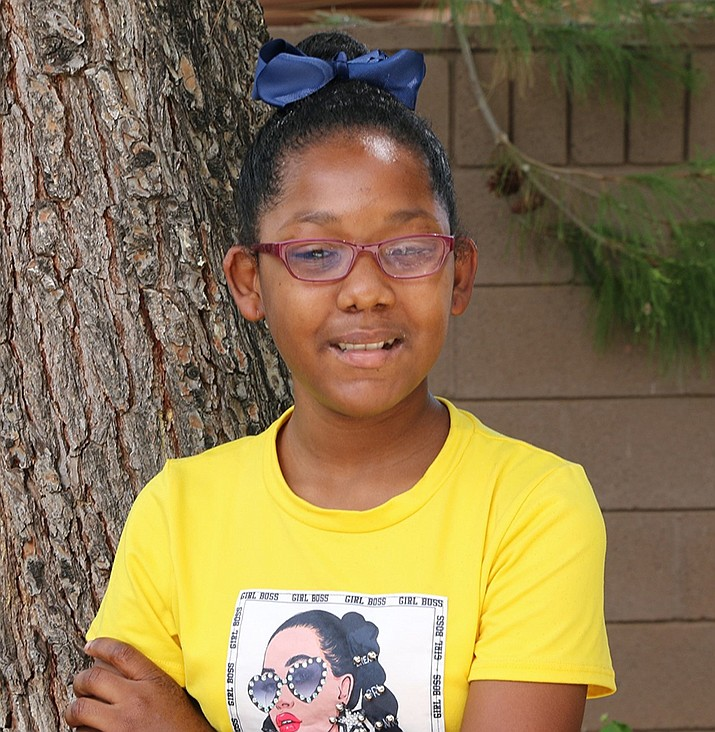 Get to know Zoeasha at https://www.childrensheartgallery.org/profile/zoeasha and other adoptable children at childrensheartgallery.org. (Arizona Department of Child Safety)