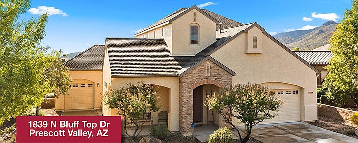1839 N. Bluff Top Drive, Prescott Valley. (Chase Realty Group/Courtesy)