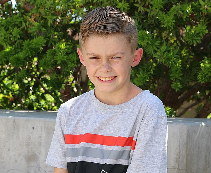 Get to know Logen at https://www.childrensheartgallery.org/profile/logen-f and other adoptable children at childrensheartgallery.org. (Arizona Department of Child Safety)