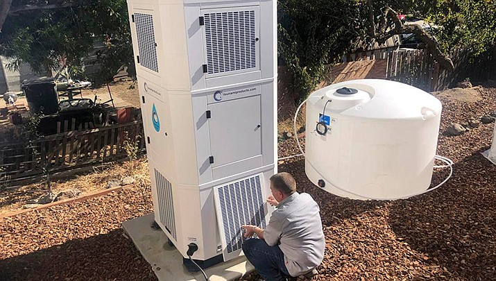 A company based in the state of Washington is manufacturing systems to extract water from humid air. (Tsunami Products courtesy photo)