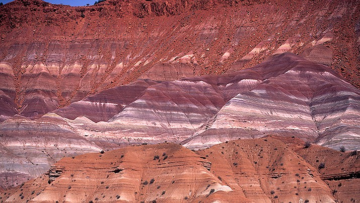 The Biden administration is restoring three national monuments to their original size, undoing cuts made during the Trump administration. Grand Staircase-Escalante National Monument in Utah is pictured. (Photo by Azuki350, cc-by-sa-3.0, https://bit.ly/3Fotssx)