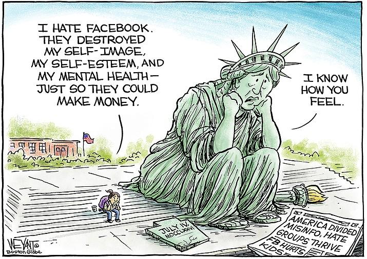 Editorial cartoon (1): Oct. 11, 2021