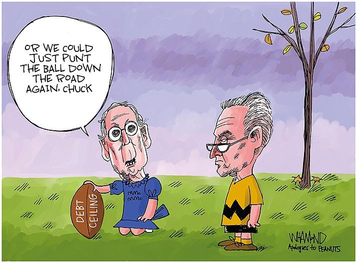 Editorial cartoon (2): Oct. 11, 2021