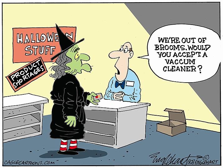 Editorial cartoon (1): Oct. 9, 2021