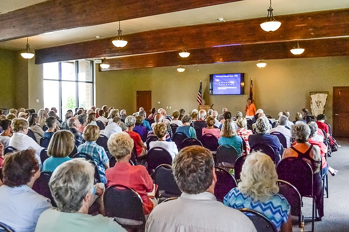 Shown is a 2015 Symposium session. (Sharlot Hall Museum Marketing Department/Courtesy)