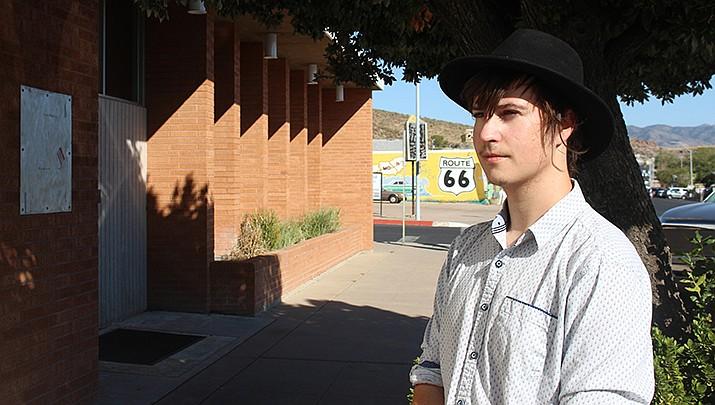 Kingman's Andy Void, 21, has released his debut album. (Photo by MacKenzie Dexter/Kingman Miner)