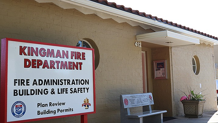 The Kingman Fire Department has acquired a grant to pay for COVID-19 supplies. (Miner file photo)