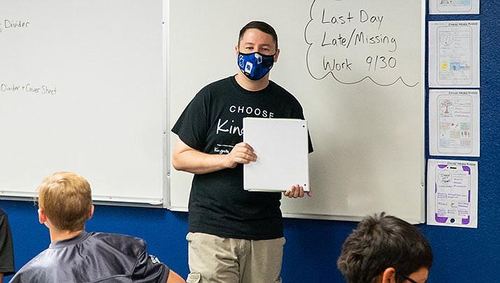 Ronald Marcks teaches at the Kingman Academy of Learning in Kingman. (MCC courtesy photo)