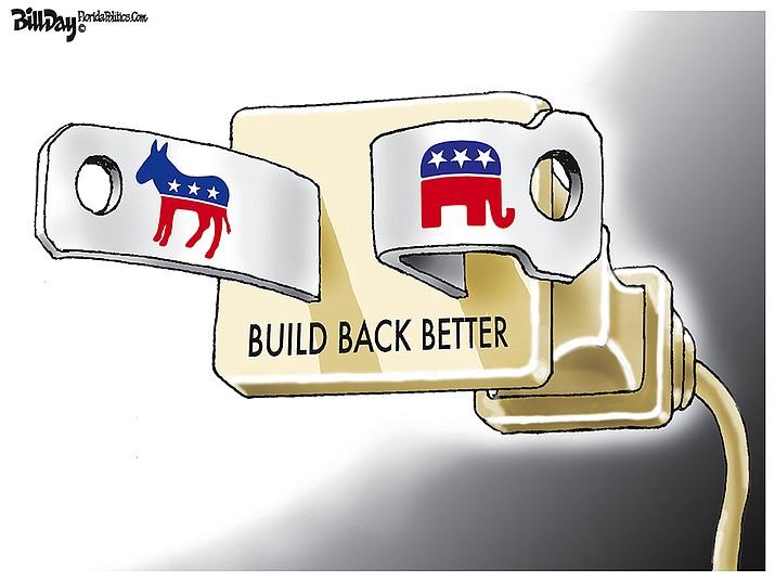 Editorial cartoon (1): Oct. 10, 2021
